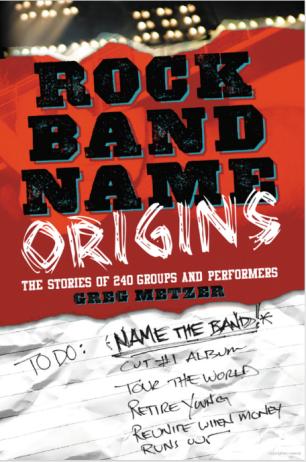 Rock band names