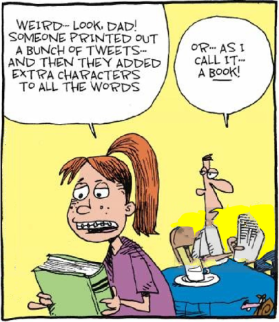 Books vs Tweets