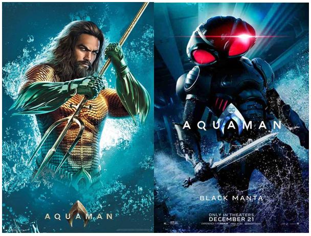 aquaman posters